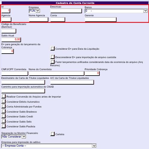 Figura 2 - Informações Básicas