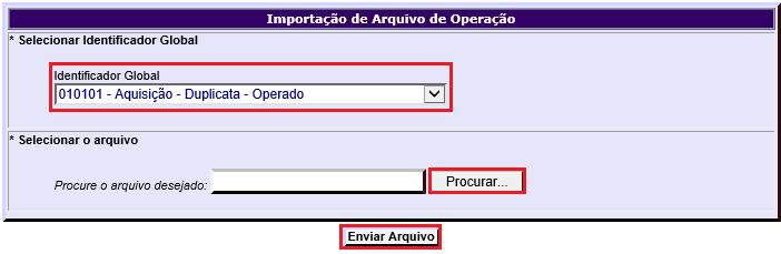 Figura 5 - Enviar Arquivo